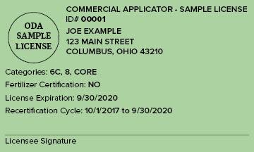 Sample License